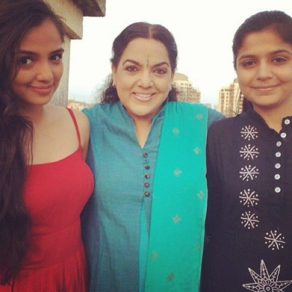 Ahsaas Channa With His Mother and Sister