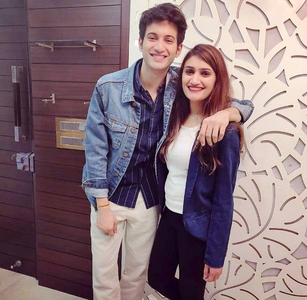 Rohit Saraf With His Sister