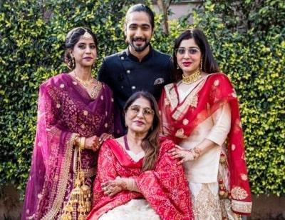 sanam johar family