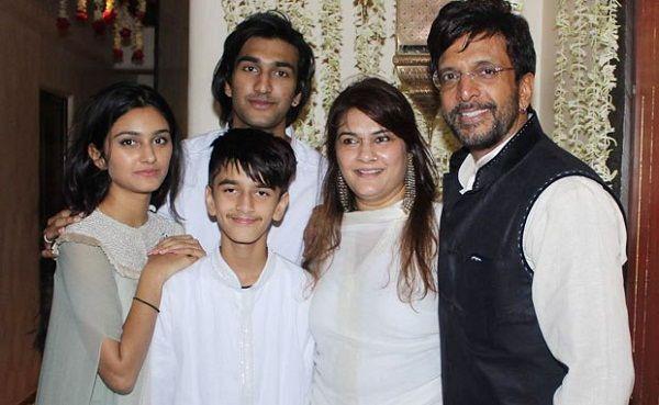 Javed Jaffrey Family