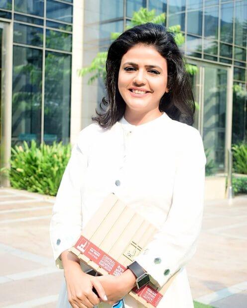 Sweta Singhs Aaj tak Anchor