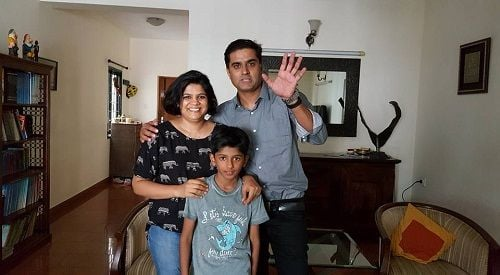 prashanth sambargi with her wife